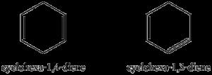 Distinguishing alkenes
