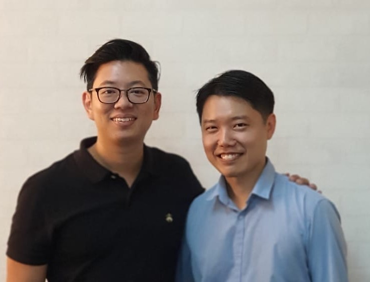 Jeremy Neo and Eric Kua