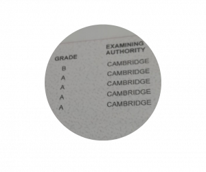 A level Chemistry results